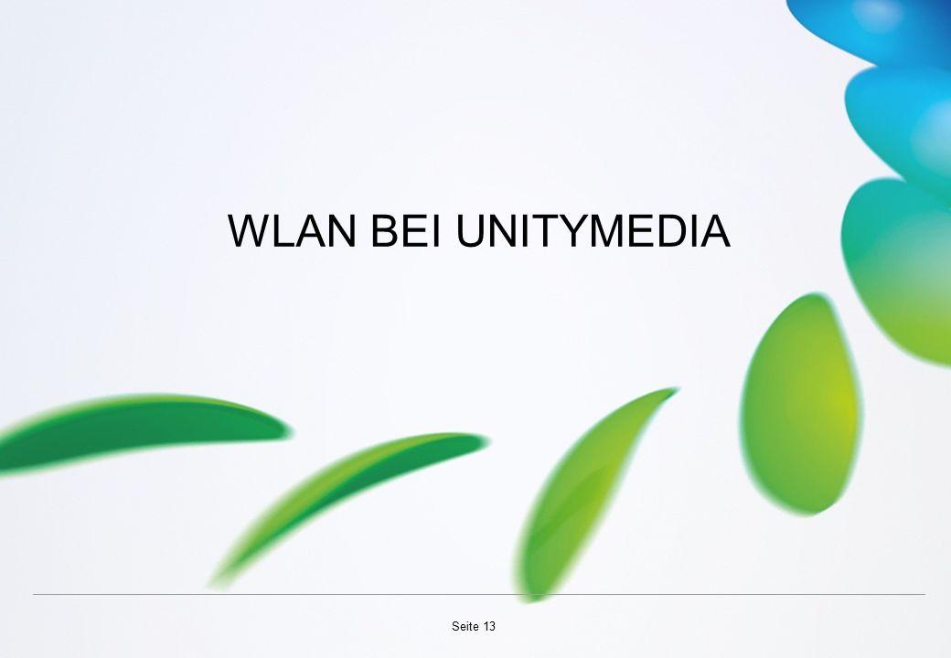 WLAN BEI UNITYMEDIA Seite 13