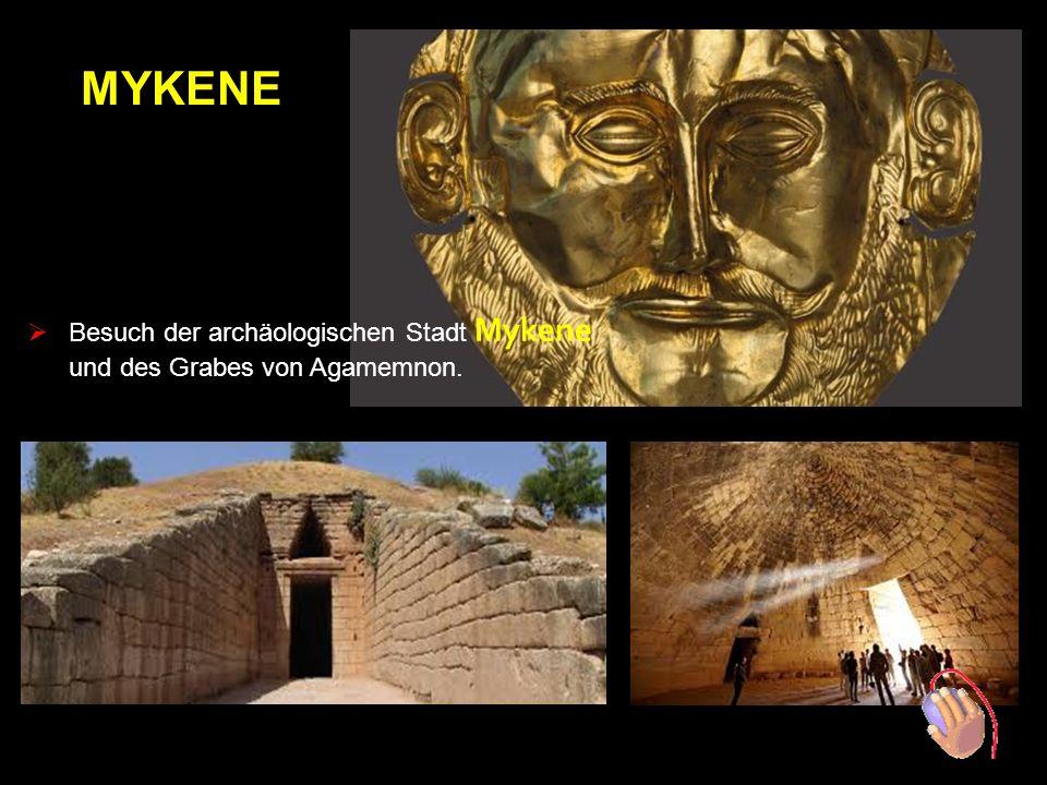 Besuch der archäologischen Stadt Mykene Tour mit Guide - Theodor