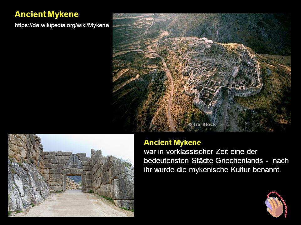 MYKENE BBesuch der archäologischen Stadt Mykene und des Grabes von Agamemnon.