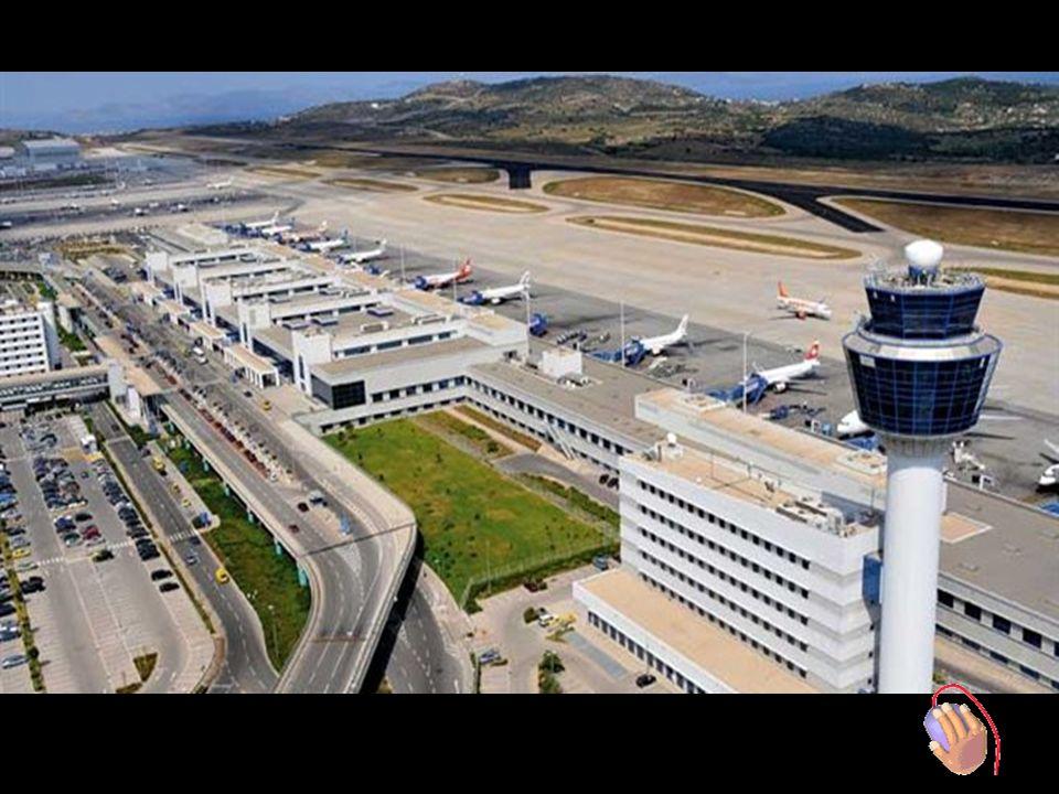 Ende der Reise Eleftherios Venigelos Athener Flughafen