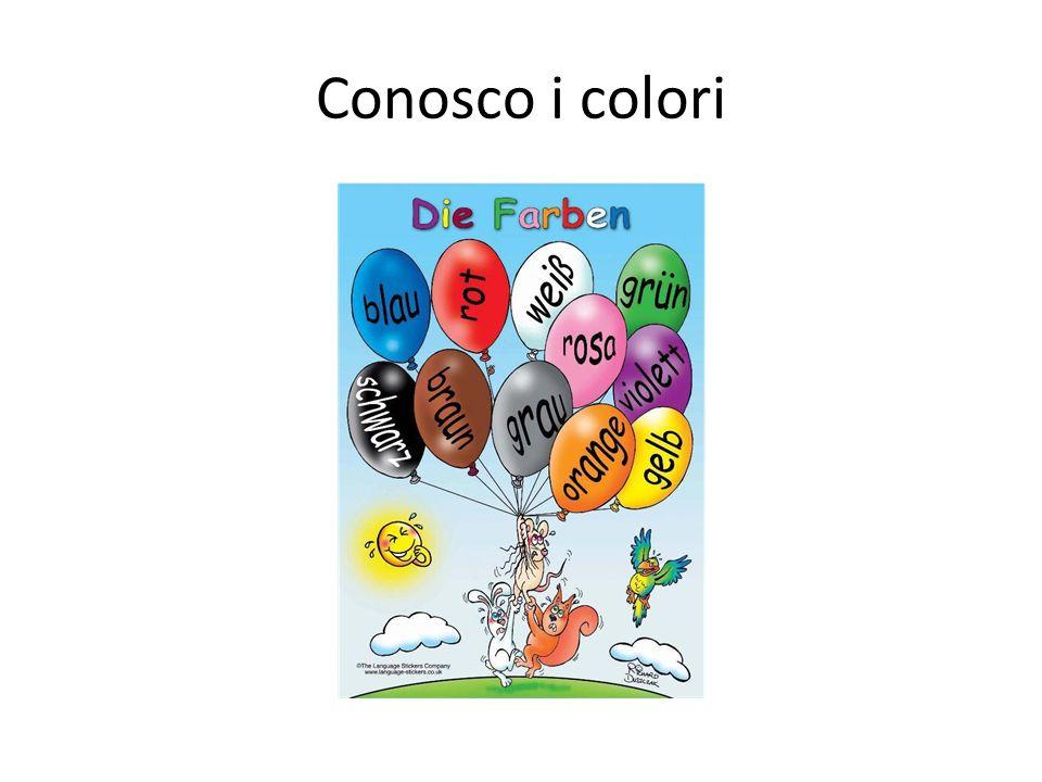 Conosco i colori