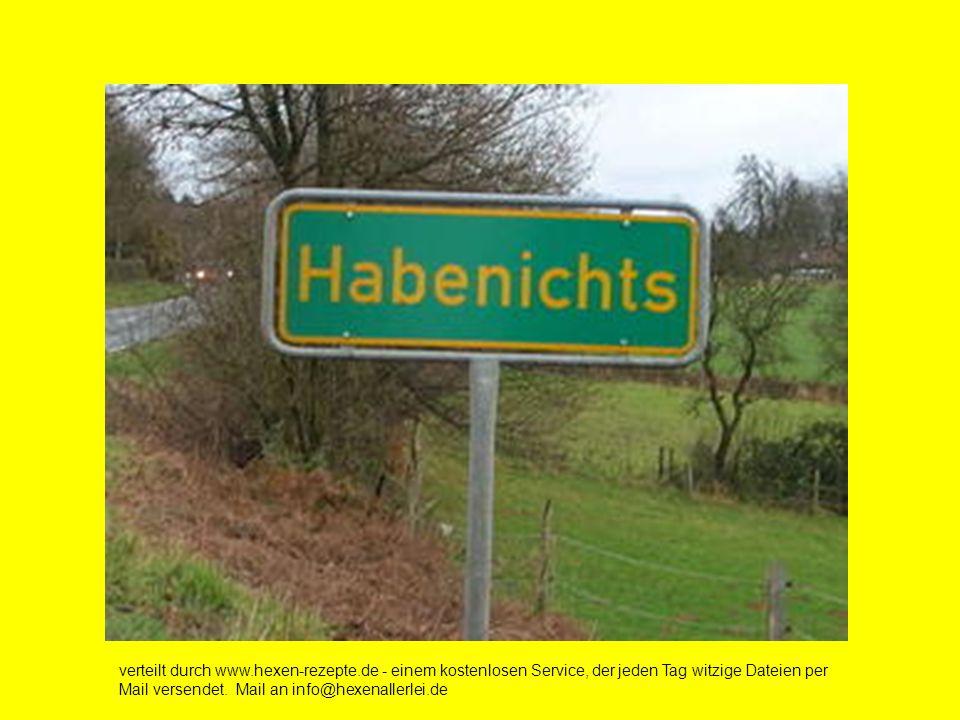 verteilt durch www.hexen-rezepte.de - einem kostenlosen Service, der jeden Tag witzige Dateien per Mail versendet.