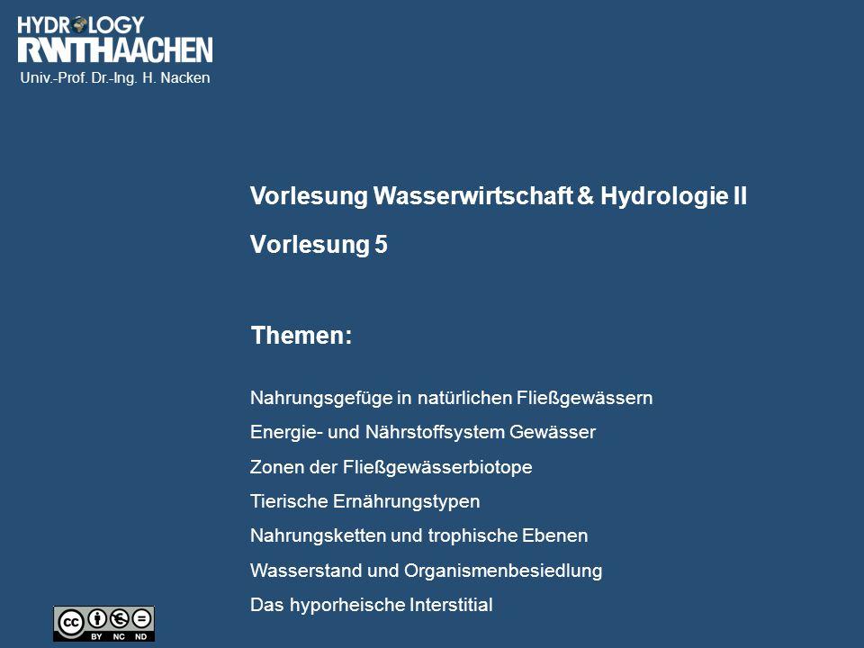 Univ.-Prof. Dr.-Ing. H. Nacken Netzfänger