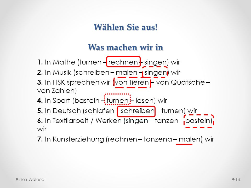 Textilarbeit - WERKEN Herr Waleed17