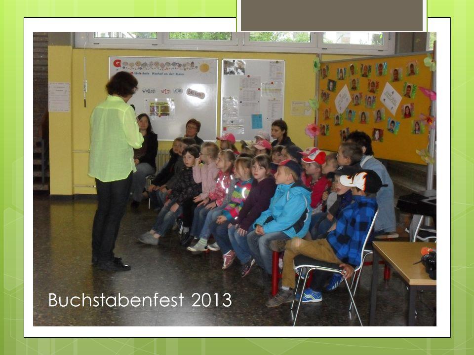 Buchstabenfest 2013