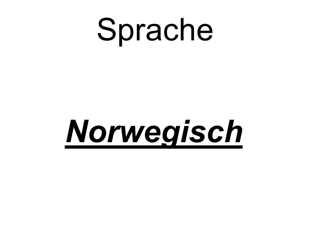 Sprache Norwegisch
