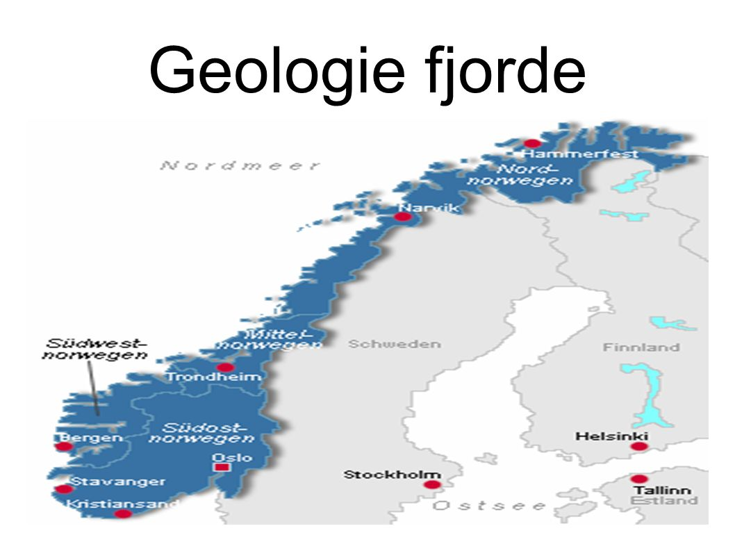 Geologie fjorde