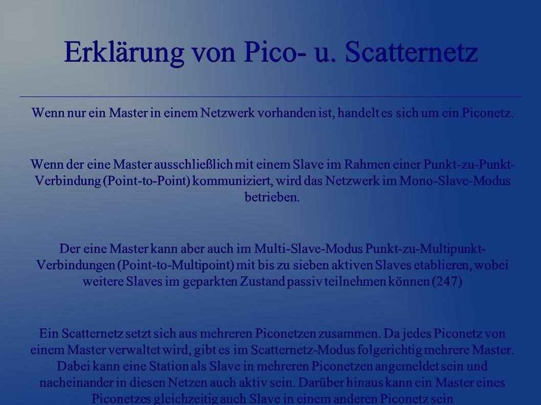 Erklärung von Pico- u.