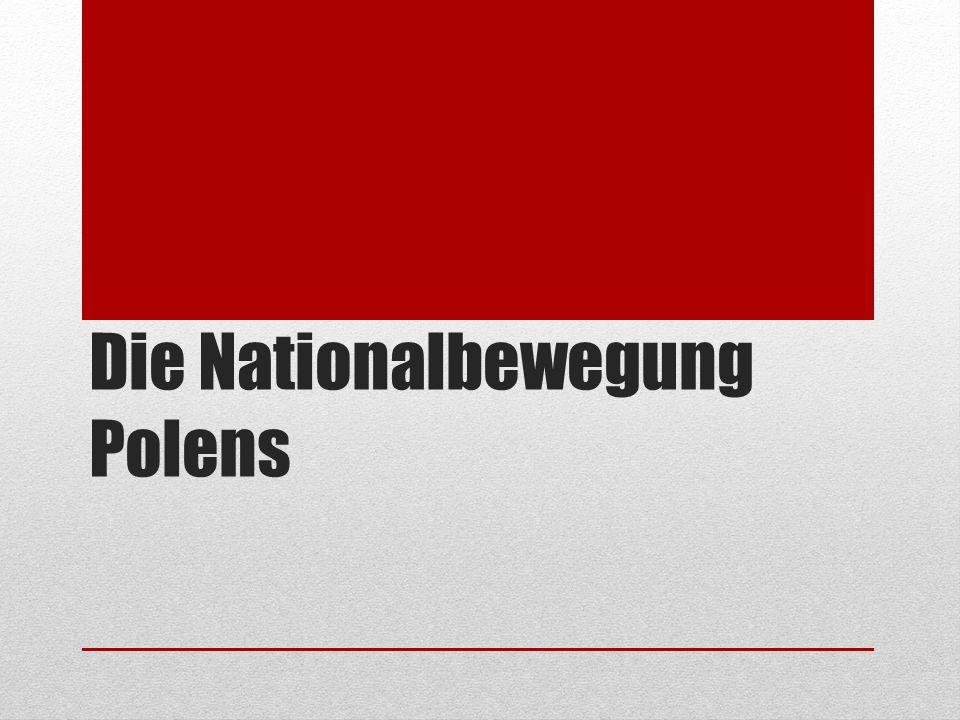 Die Nationalbewegung Polens