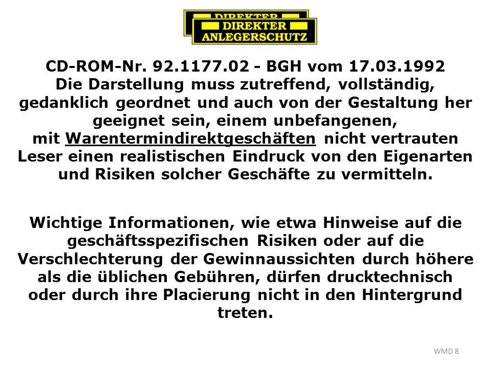 WMD 8 CD-ROM-Nr.