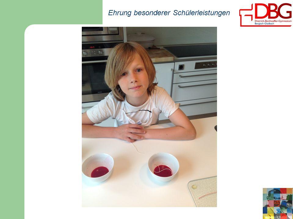 Ehrung besonderer Schülerleistungen Finnja Swifka, 6cKlassischesBallett