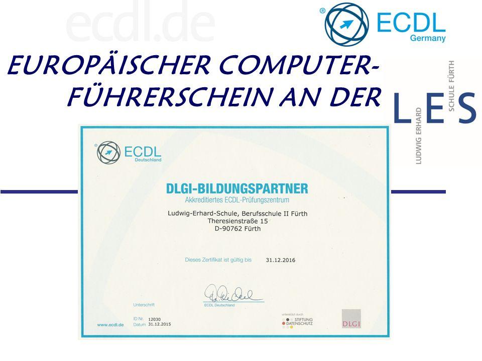 Der ECDL – European Computer Driving Licence Gesellschaft für Informatik (GI) ECDL-Foundation ECDL in Deutschland (DLGI) Council of European Professional Informatics Societies
