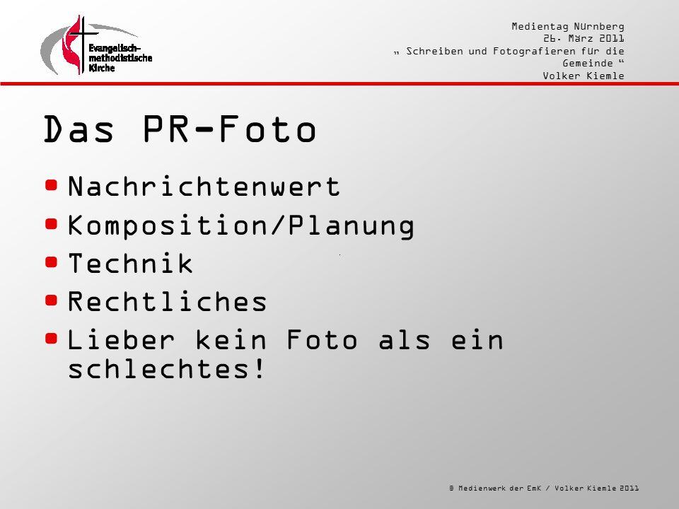 """© Medienwerk der EmK / Volker Kiemle 2011 Medientag Nürnberg 26. März 2011 """" Schreiben und Fotografieren für die Gemeinde """" Volker Kiemle Das PR-Foto"""