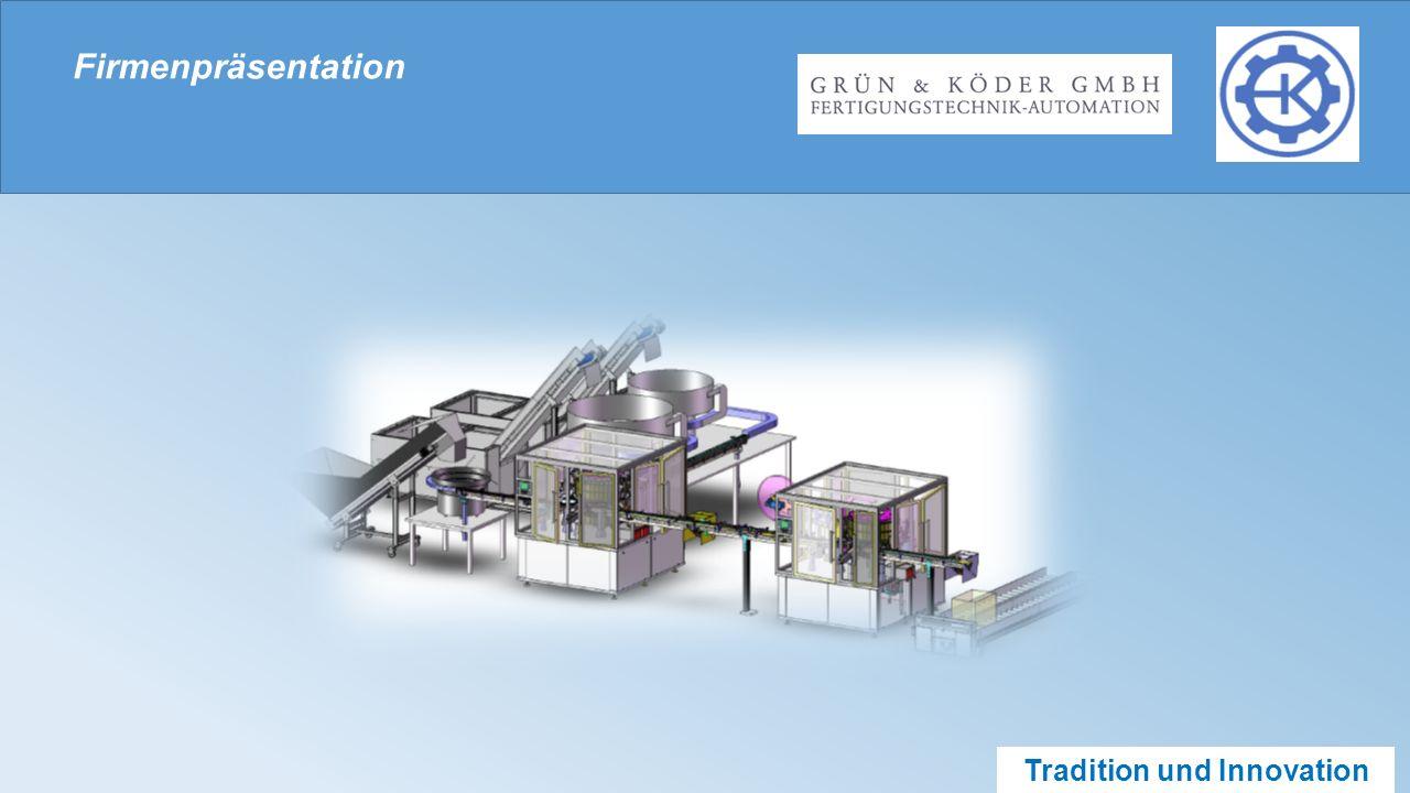 Tradition und Innovation Verpackungsmaschinen Abfüll- und Verschließanlagen Reinraumtechnik – manuell bestückt Siegelrandbeutel - Anlage