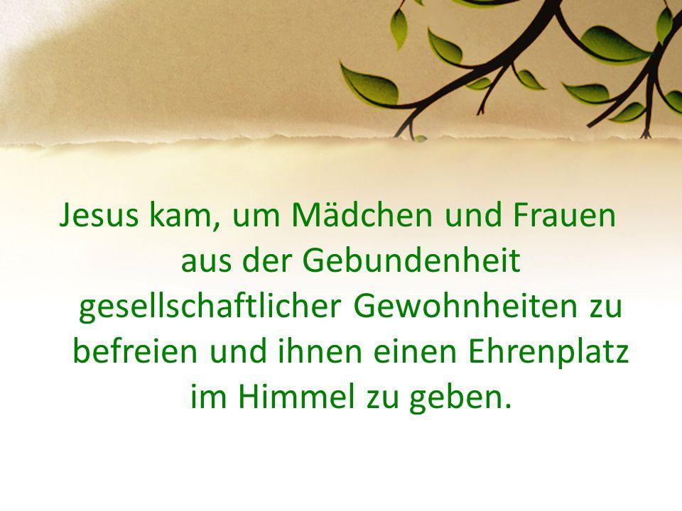 …und mein Geist freut sich Gottes, meines Heilandes; denn er hat die Niedrigkeit seiner Magd angesehen… Er übt Gewalt mit seinem Arm und zerstreut, die hoffärtig sind in ihres Herzens Sinn.