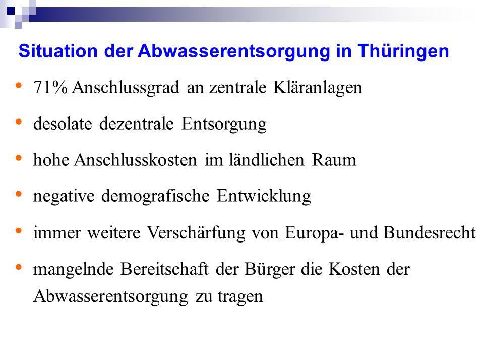 Richtlinie 91/271/EWG über die Behandlung von kommunalem Abwasser