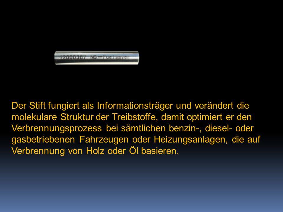 """2014 - Zeit für Veränderungen  Die österreichische Firma """"New Generation Bio"""" hat auf Basis von Raumenergie ein Produkt entwickelt, mit dem es möglic"""