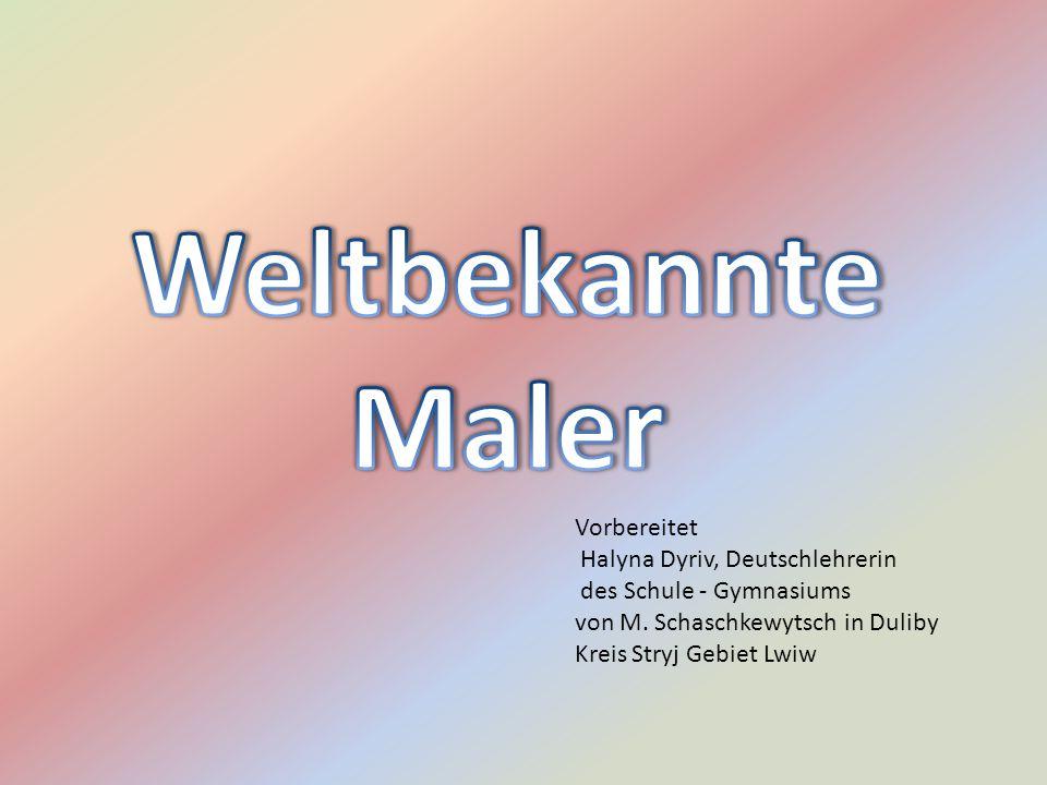 Vorbereitet Halyna Dyriv, Deutschlehrerin des Schule - Gymnasiums von M.