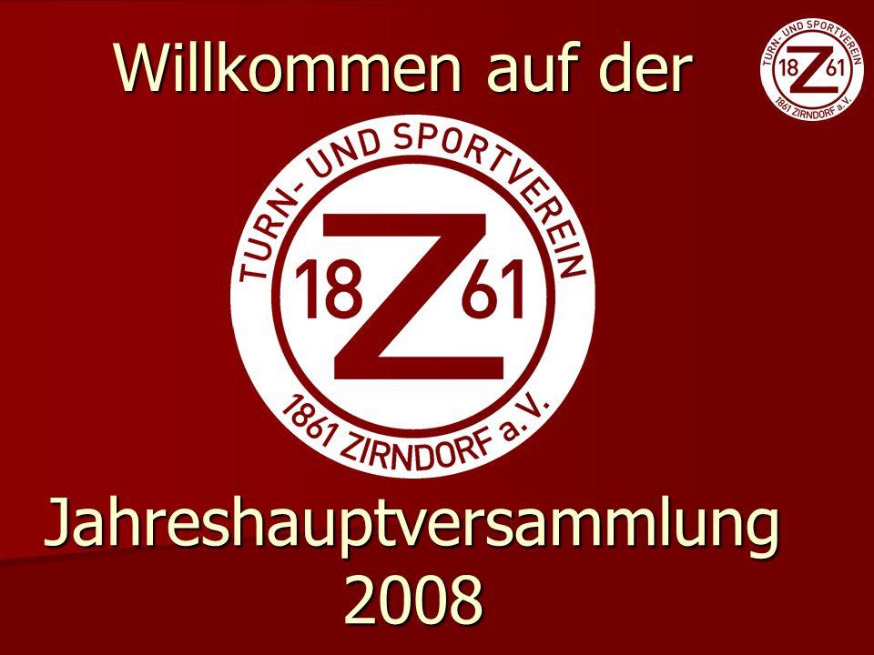 Tagesordnung 1.Begrüßung und Totenehrung 2. Vorlesung des Vorjahresprotokolls 2007 3.