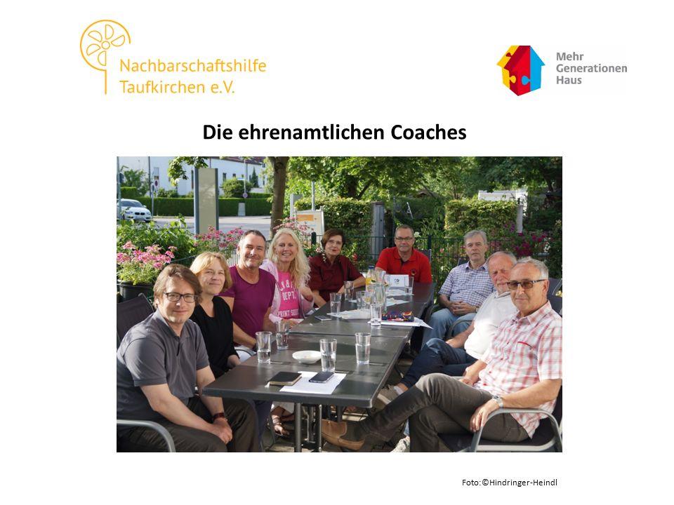Die ehrenamtlichen Coaches Foto:©Hindringer-Heindl