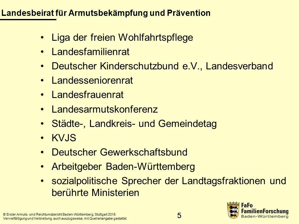 26 Armutsprofile Datenquelle: SOEP 2008–2012; eigene Auswertung FamilienForschung Baden-Württemberg im Statistischen Landesamt.