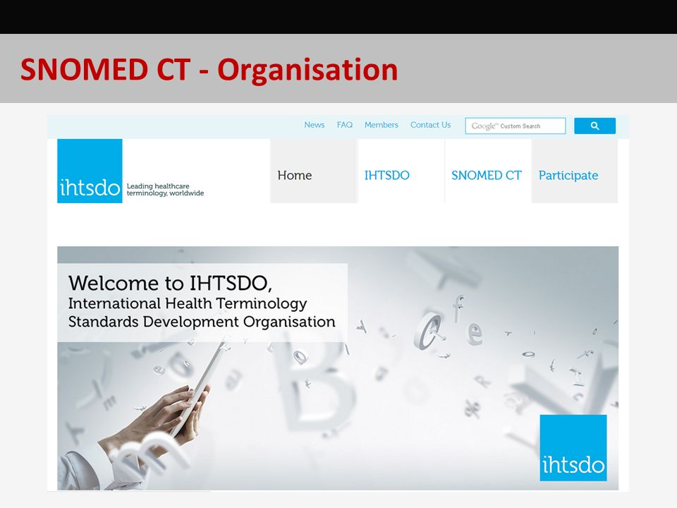 SNOMED CT - Organisation