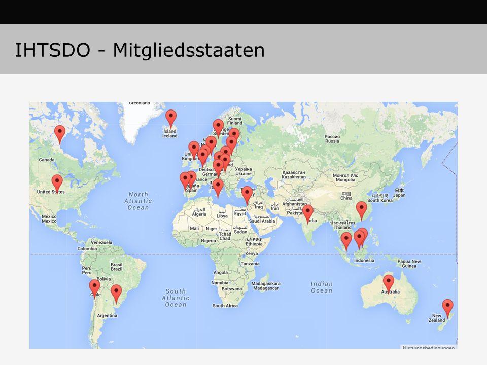 IHTSDO - Mitgliedsstaaten