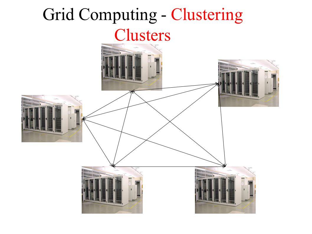 Grid Computing - Clustering Clusters