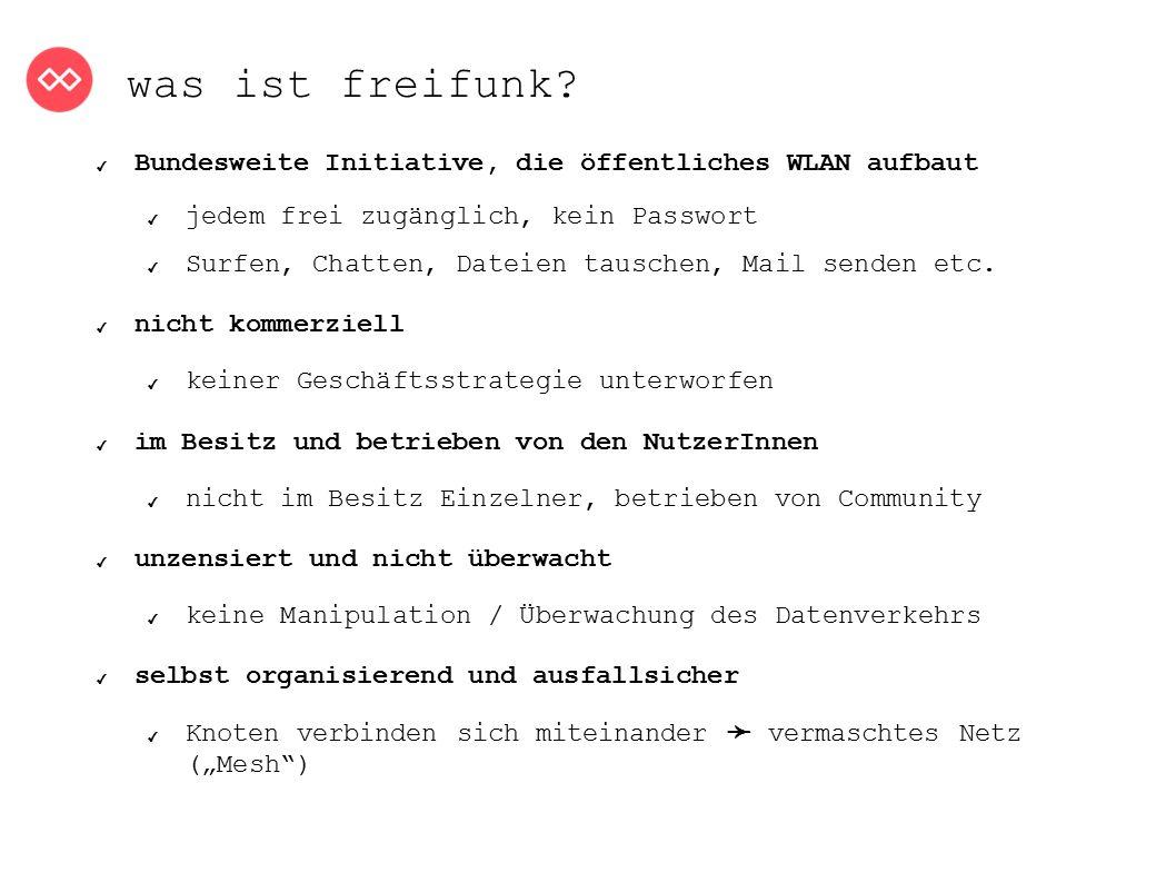 was will freifunk.