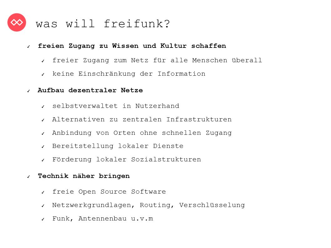 was will freifunk.