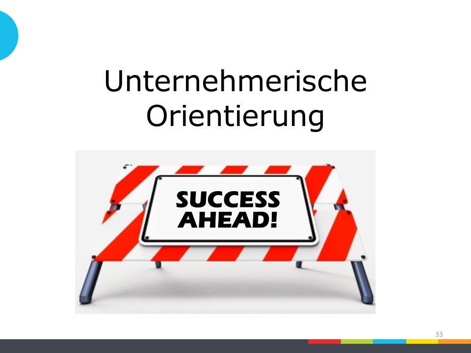 Unternehmerische Orientierung 33