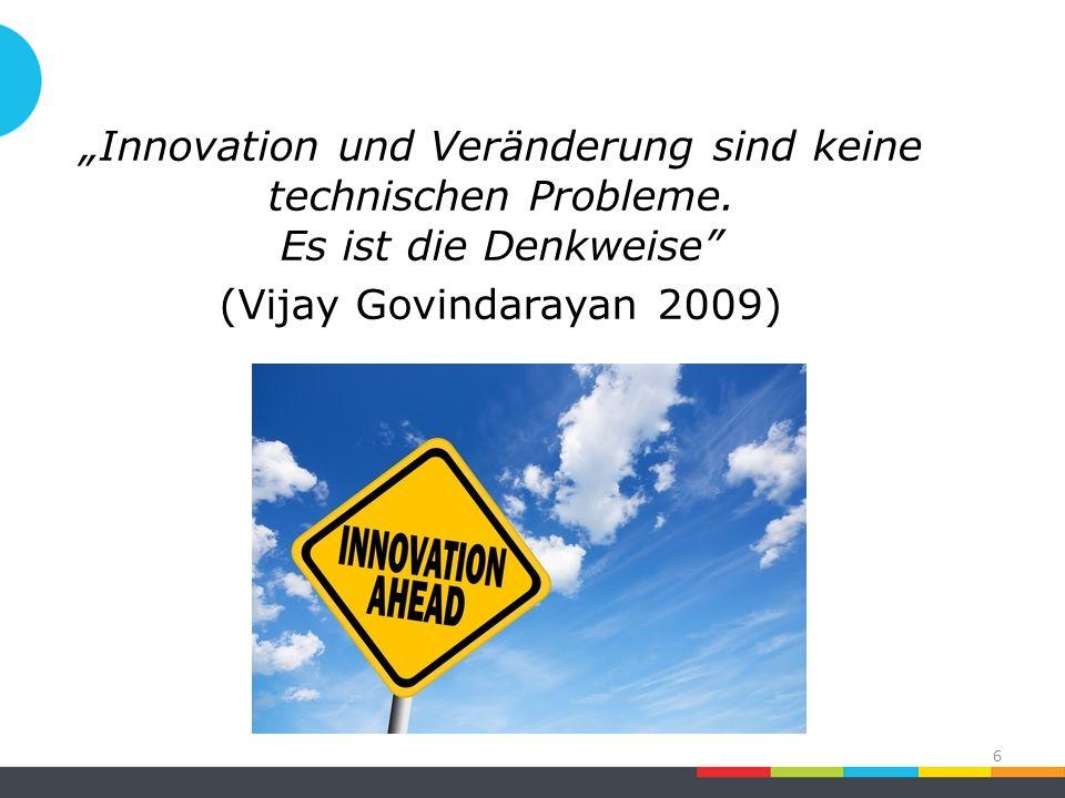 Dimension #3: Risikofreude Schritte ins Ungewisse gehen Ressourcen auch für unvorhersehbare Ergebnisse bereitstellen Ist Innovation auch ohne Risiken möglich.