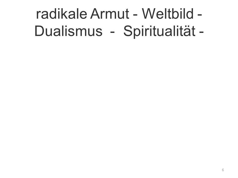 Spiritualität - heute - Zukunft 7