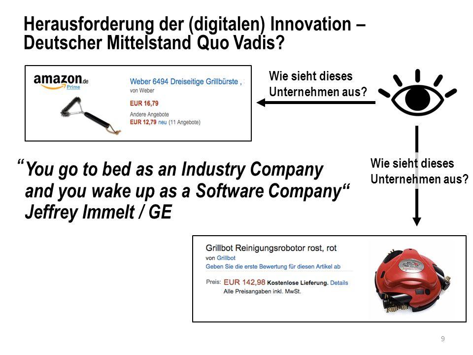 Herausforderung der (digitalen) Innovation – Deutscher Mittelstand Quo Vadis.