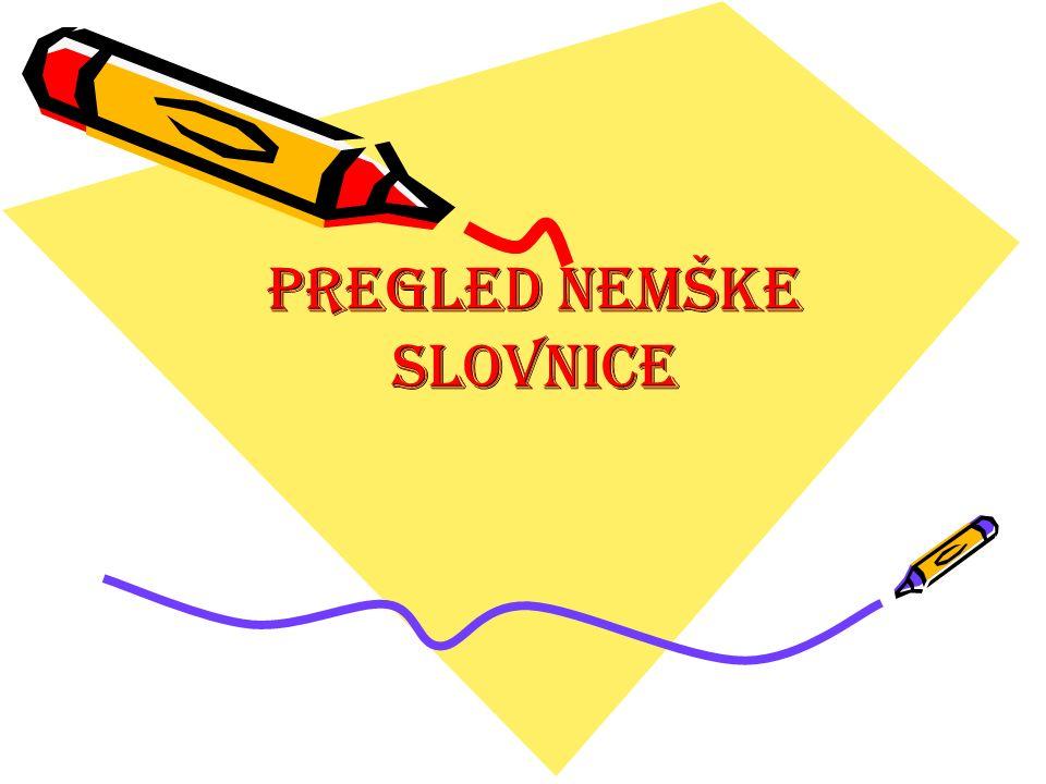 schwache Deklination des Adjektivs (šibka sklanjatev pridevnika)