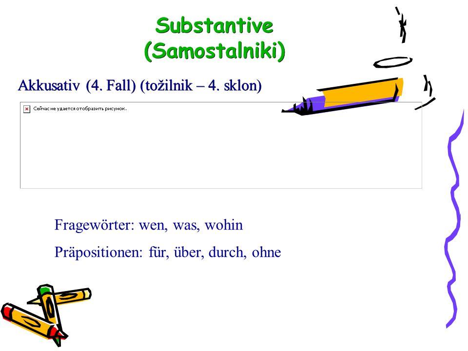 Dativ (3.Fall) (dajalnik – 3.