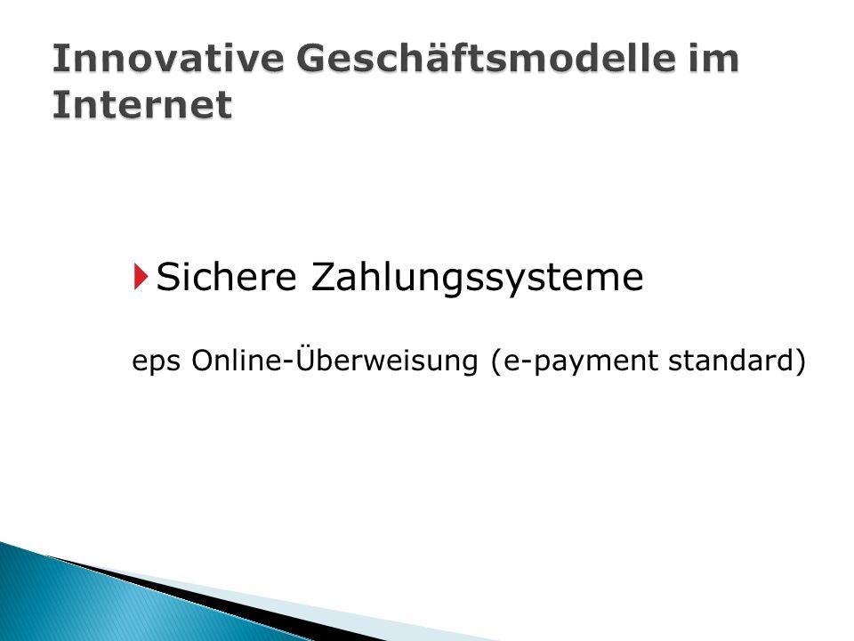 eps Online-Überweisung (e-payment standard)