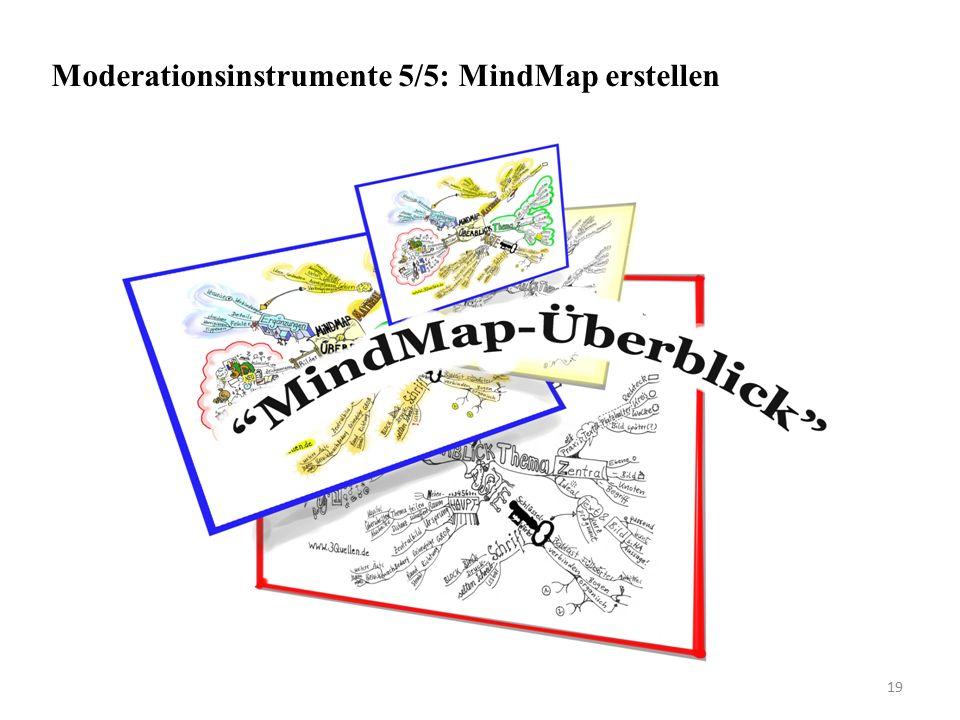 Moderationsinstrumente 5/5: MindMap erstellen 19