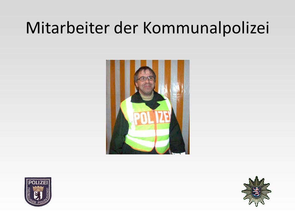 Mitarbeiter der Kommunalpolizei