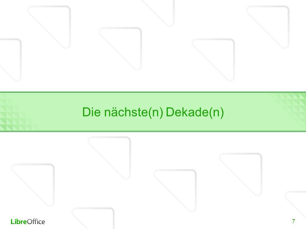 8 LibreOffice und The Document Foundation