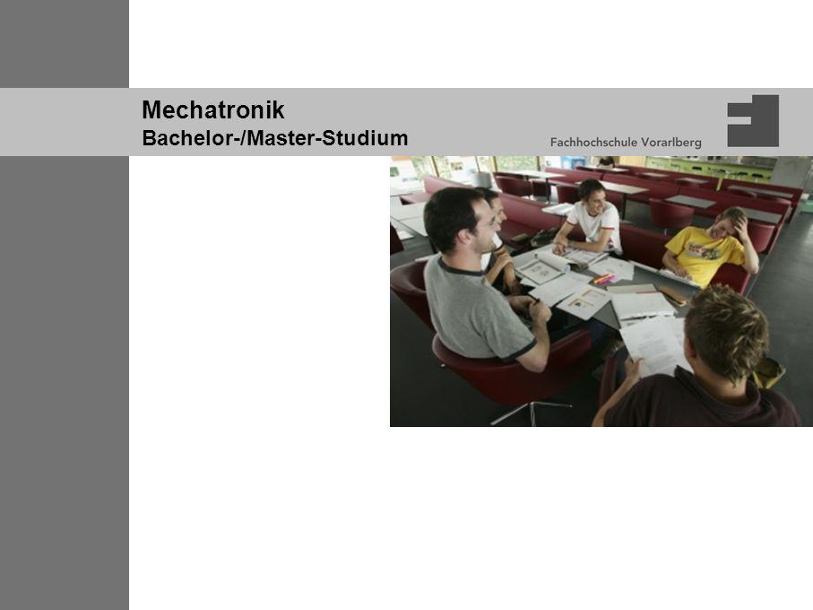 Mechatronik Bachelor-/Master-Studium