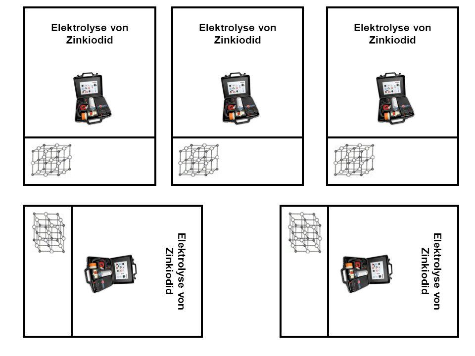 Elektrolyse von Zinkiodid