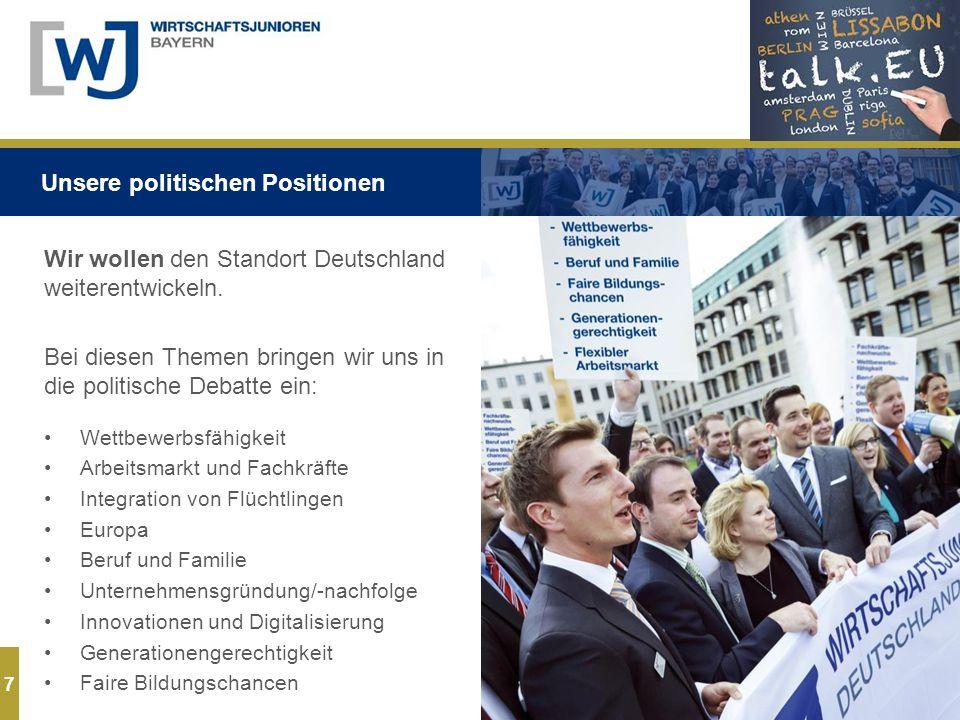 7 Wir wollen den Standort Deutschland weiterentwickeln.