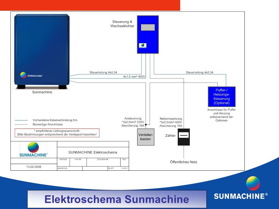 Elektroschema Sunmachine