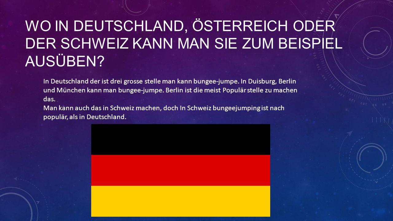 WAS KOSTET DAS.In Berlin Bungee-jumping kostet herum 89 euro.