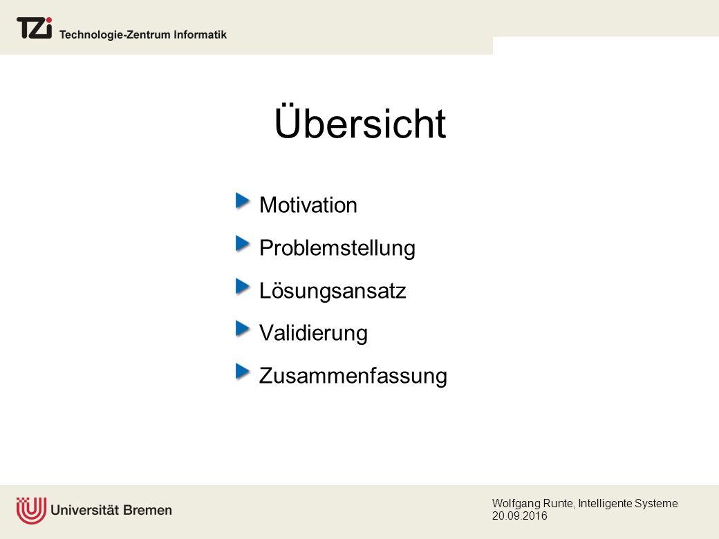 Wolfgang Runte, Intelligente Systeme 20.09.2016 Lösungsansatz (Konzeption) Abstraktion durch Strategien (2) Jedes Constraint wird vom Wissensingenieur mit einer geeigneten Lösungsstrategie assoziiert.