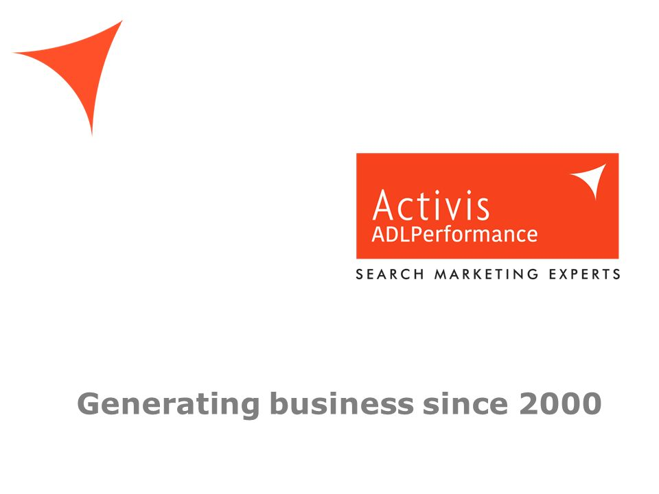 Generating business since 2000