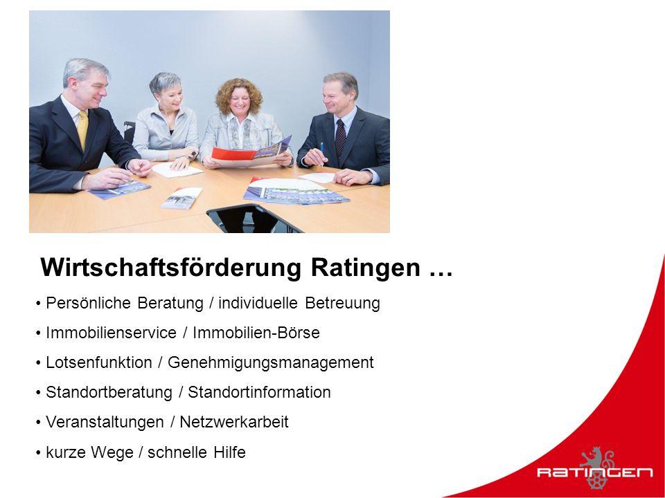 Kontakt Wirtschaftsförderung Ratingen Wir sind gerne für Sie da.