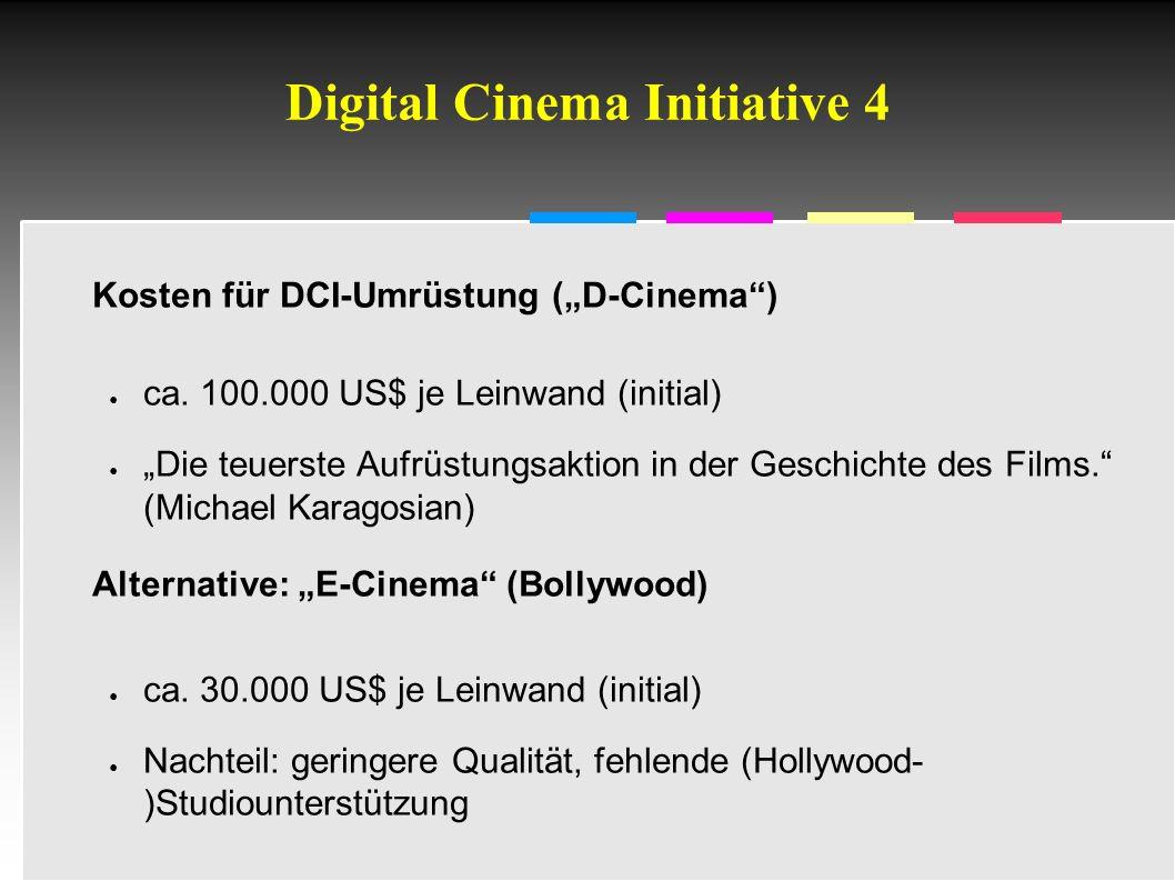 Informatik & Gesellschaft - TU Berlin – 2005 - DCI in der Praxis 1 Quelle: DCI Spec v1.0a, S. 6