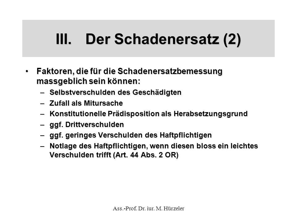 Ass.-Prof. Dr. iur. M.